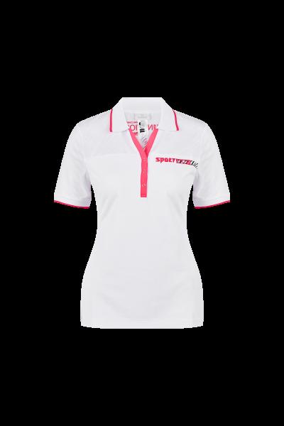 Golfshirt in klassischer Piqué-Qualität