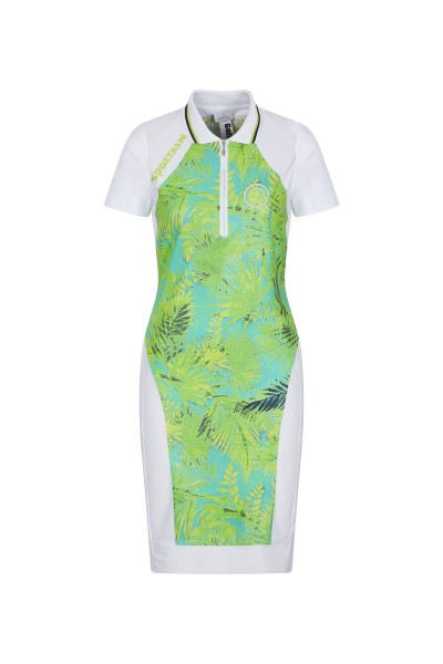 Golf dress in pique fabric