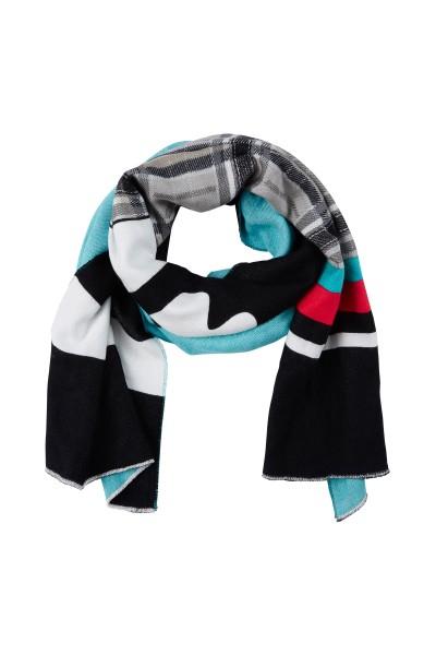 Modisch bedruckter Schal