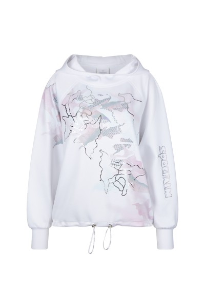 Sweater im Allover-Print