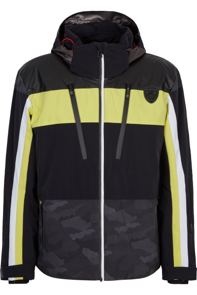 Ski jacket in color block
