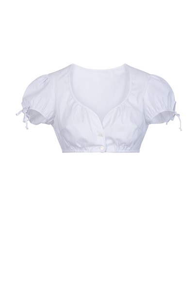 Dirndl blouse with puffed sleeves