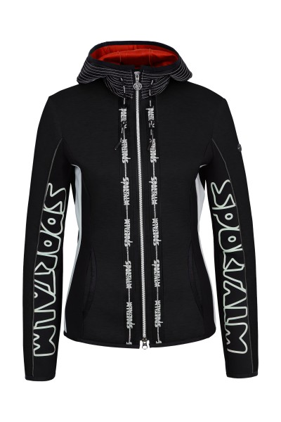 Modische Fleecejacke