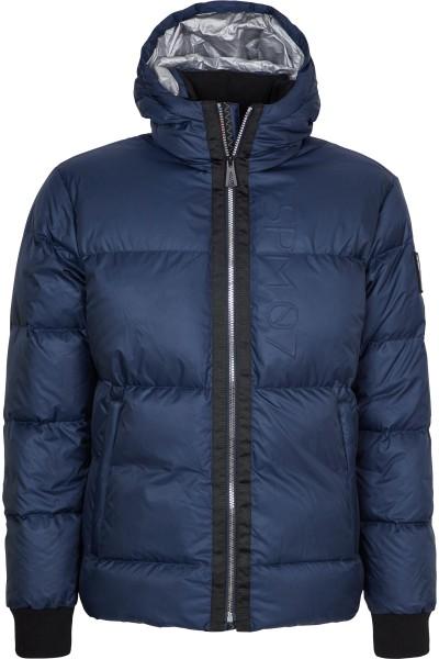 Functional ski down jacket