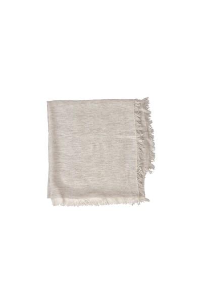 Hochwertiges Tuch aus edler Viskose-Qualität mit Fransenkante