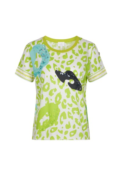 ALL-OVER Leo Print T-Shirt