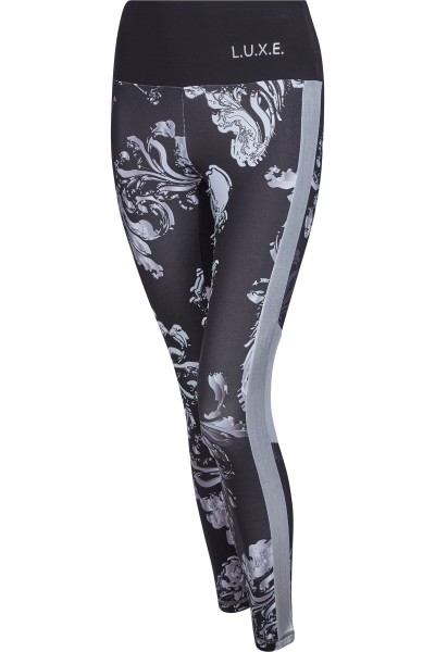 Fashionable leggings with innovative trans print