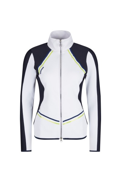 Sporty jersey jacket
