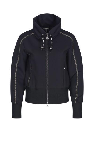 Jacket in plain stretch quality