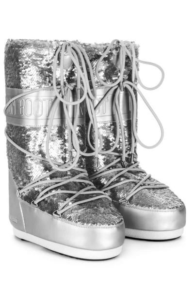 Moon Boot Stiefel mit Pailetten