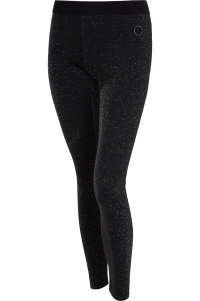 Leggings in Glitterjersey