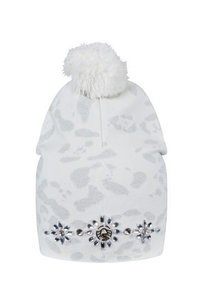 Mütze mit Strassdetails
