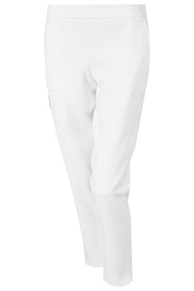 Sportive modische Hose aus winterlicher Stretchware mit Taschen