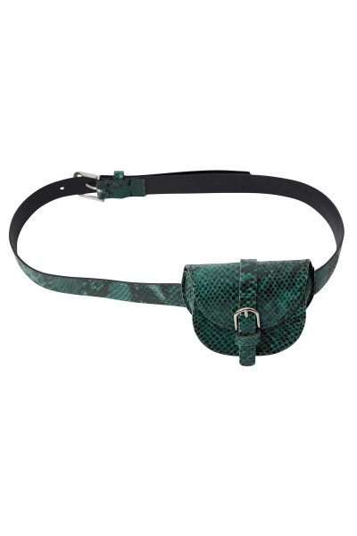 Belt bag made of high quality synthetic leather