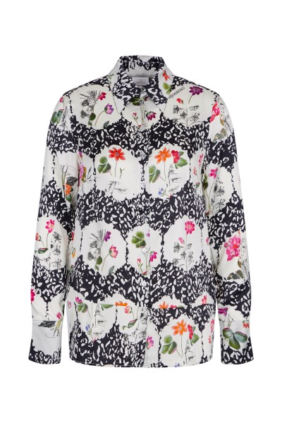 Blouse in an allover print