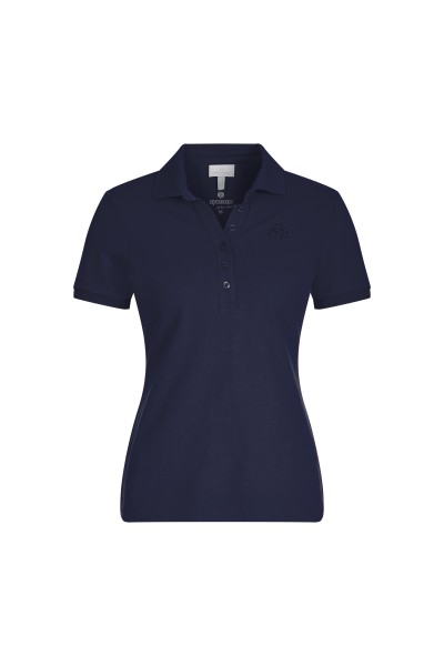 Polo shirt with button placket