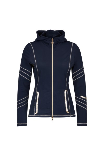 Sweatjacket with Icegold Details