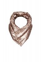 Kuscheliger Metallic Nylon Schal