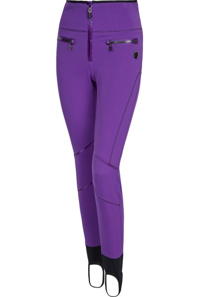 Softshell ski pants with jetty