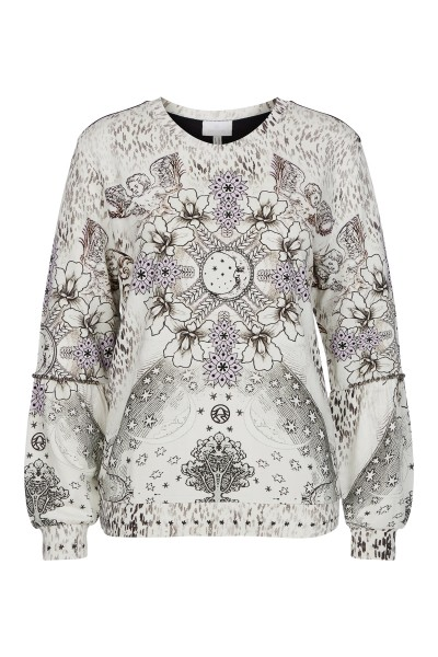 Sweater im Alloverprint
