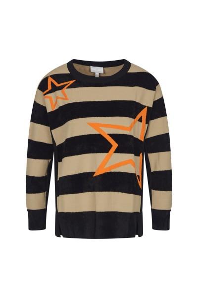 Pullover im Colourblock
