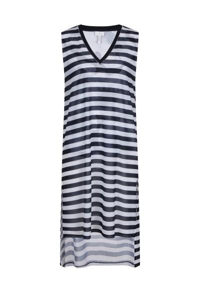 Sommerliches Kleid im Streifenlook