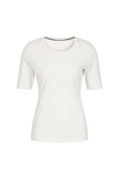 Kurzes Shirt als glitzernder Blickfang