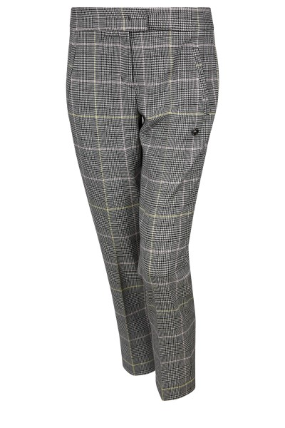 Classic trousers in check look