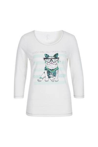 T-Shirt aus weicher Jersey-Qualität mit Druckmotiv