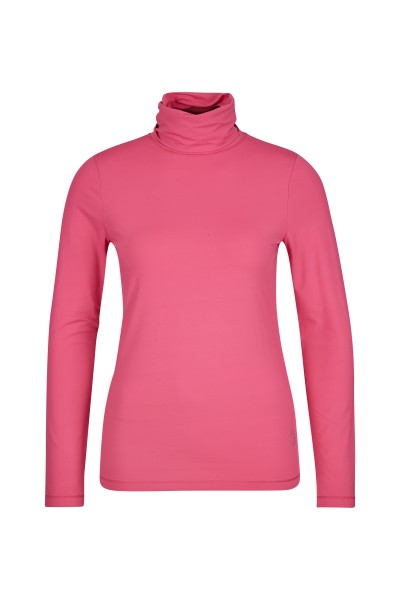 Long sleeve shirt with turtleneck