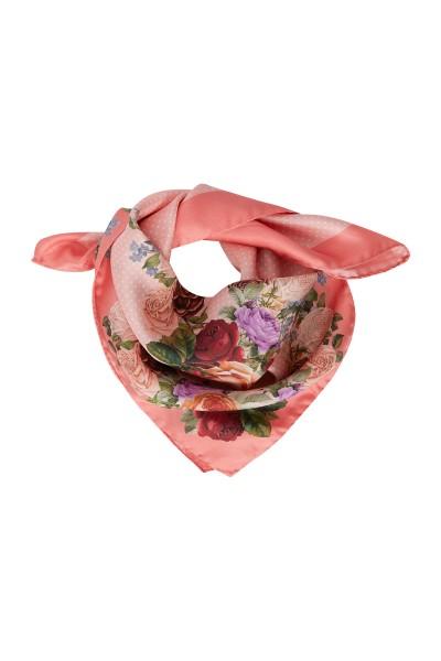 Leichtes Tuch im floralem Druck