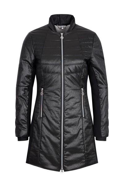 Sporty nylon coat