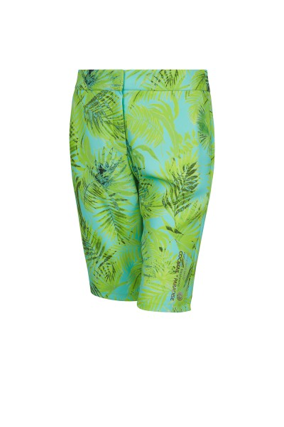 Summery palm print shorts