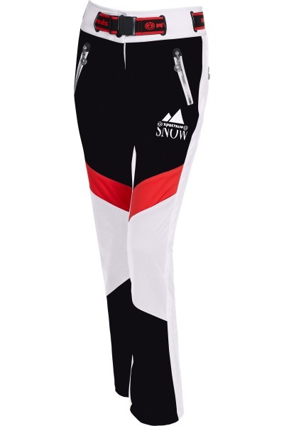 Sportive Skihose in Kontrastfarben