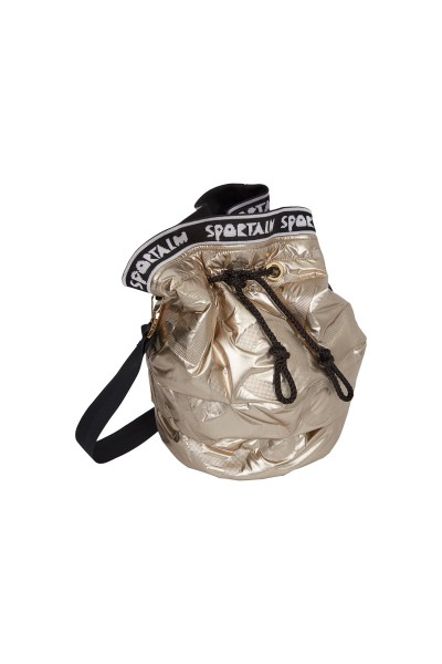 Bucket bag made of padded nylon quality