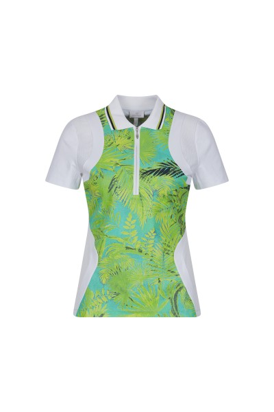 Colourful golf shirt