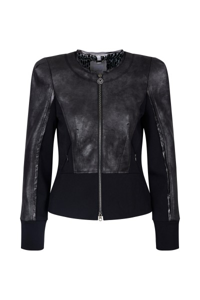 Jacket made of high quality leather