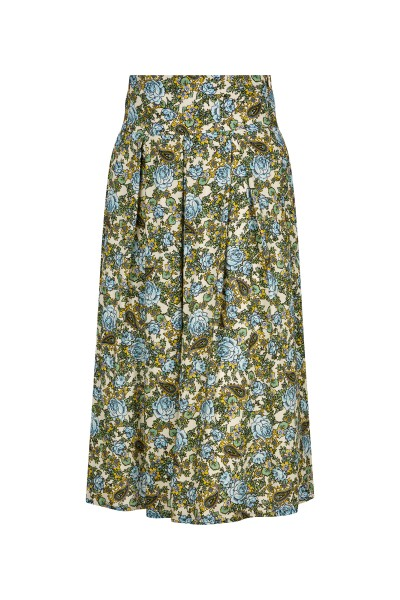 Traditional skirt in a floral all-over print