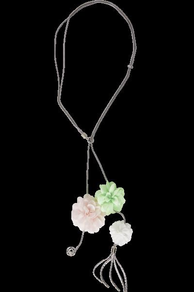 Romantische Kette  aus Chiffonblumen