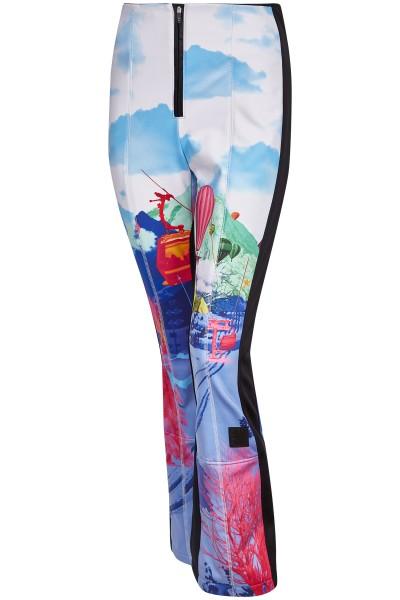 Modische Skihose mit Wintermotiv