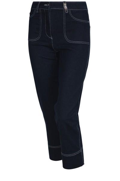 Denim Jeans im Cargo Look