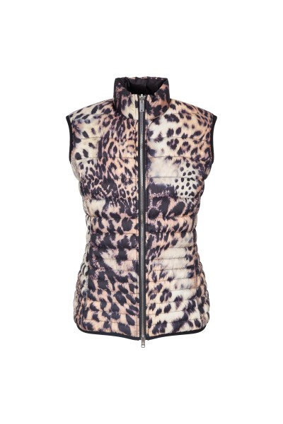 Quilted vest with reversible option