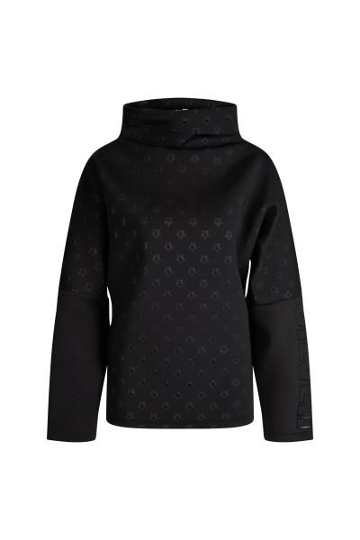 Sweatshirt mit 3D geprägten Sternen in Scuba Qualität