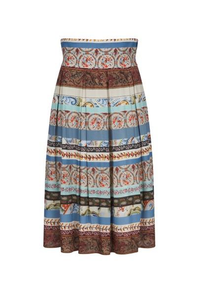 High cut a-line skirt