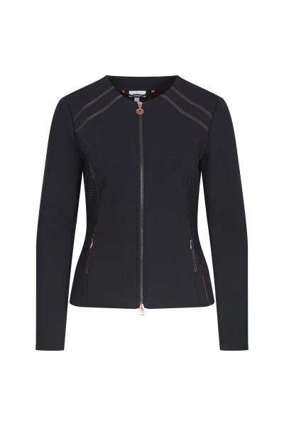 Stylish jacket with mesh inserts