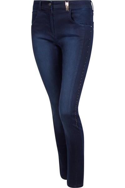 Edle Jeans mit seitlich angebrachten Strasssteinchen