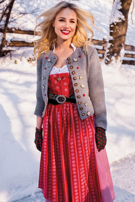 Trachten mantel winter damen