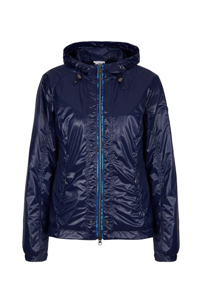 Sporty golf jacket with hood