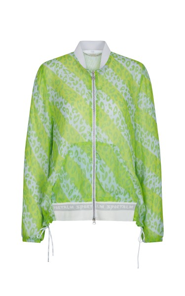 Sweat jacket in chiffon quality
