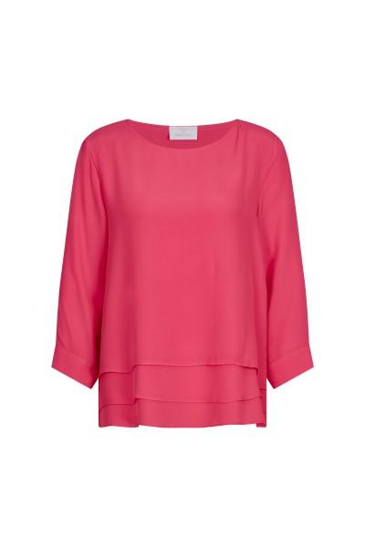 Elegant blouse in layered look